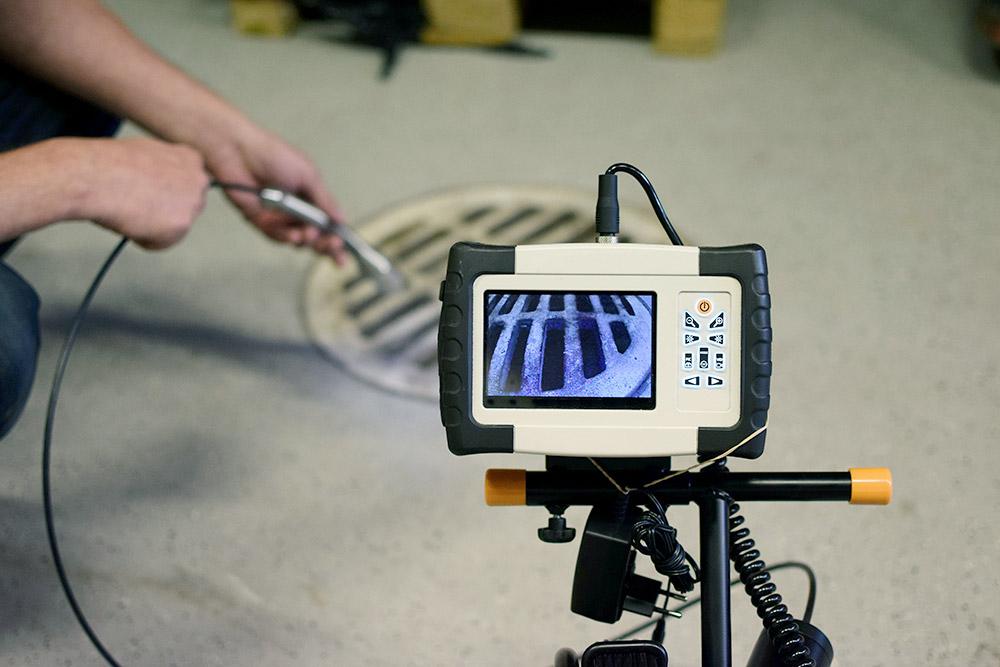 Inspection par caméra avec Plombier Terrebonne
